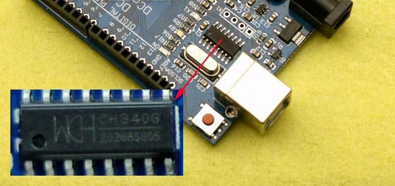 Step by step installation guide for ch340g usb to serial ic along.