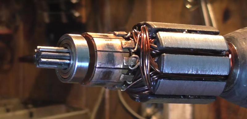 щеточно-коллекторный электродвигатель