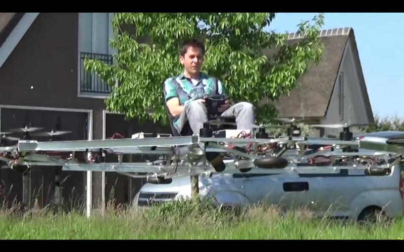 Как сделать большой квадрокоптер самому